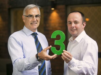 Philip Rainey, Chief Executive of Simple Power & Jude McCann, Chief Executive of Rural Support